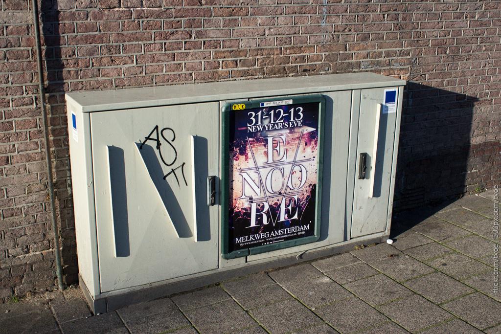 Афиша в Амстердаме