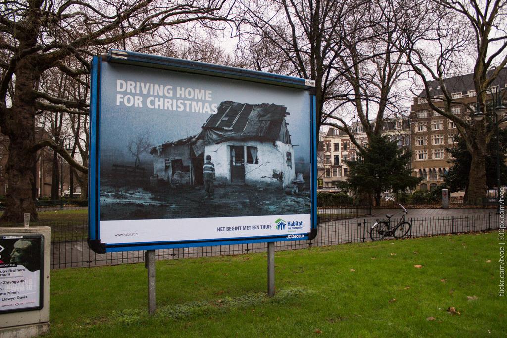 Социальная реклама в Амстердаме