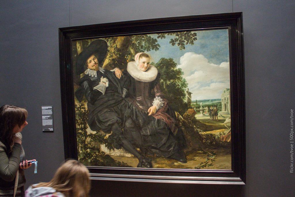 Семейный портрет Исаака Массы и его жены Франца Халса