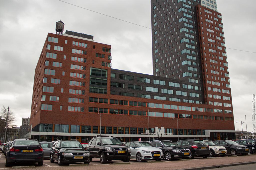 """Бизнес-центр """"Мотевидео"""" в Роттердаме"""