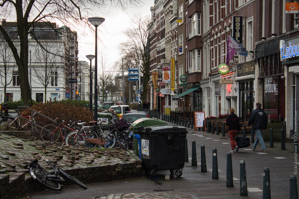 Улица в Роттердаме