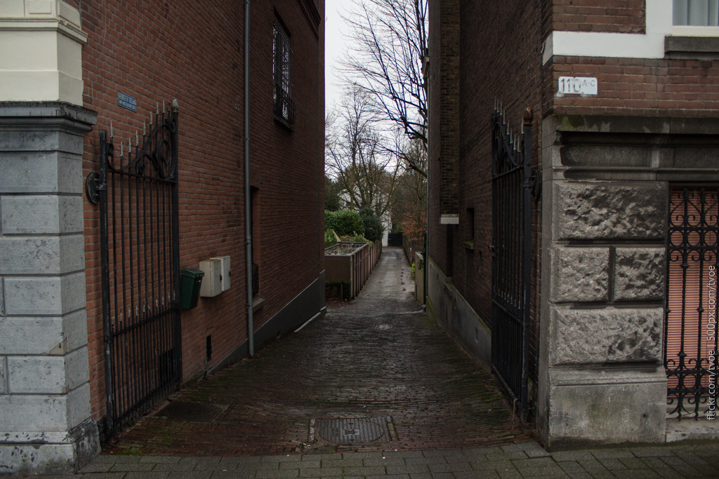 Дворик в Роттердаме