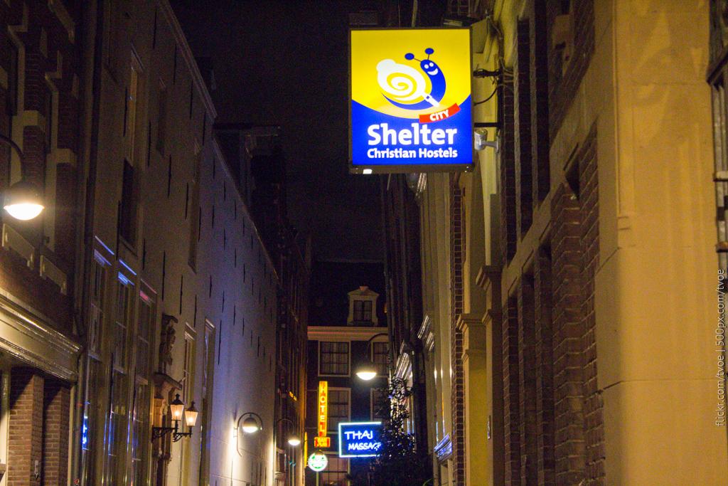 Тайский массаж и христианский хостел в Амстердаме