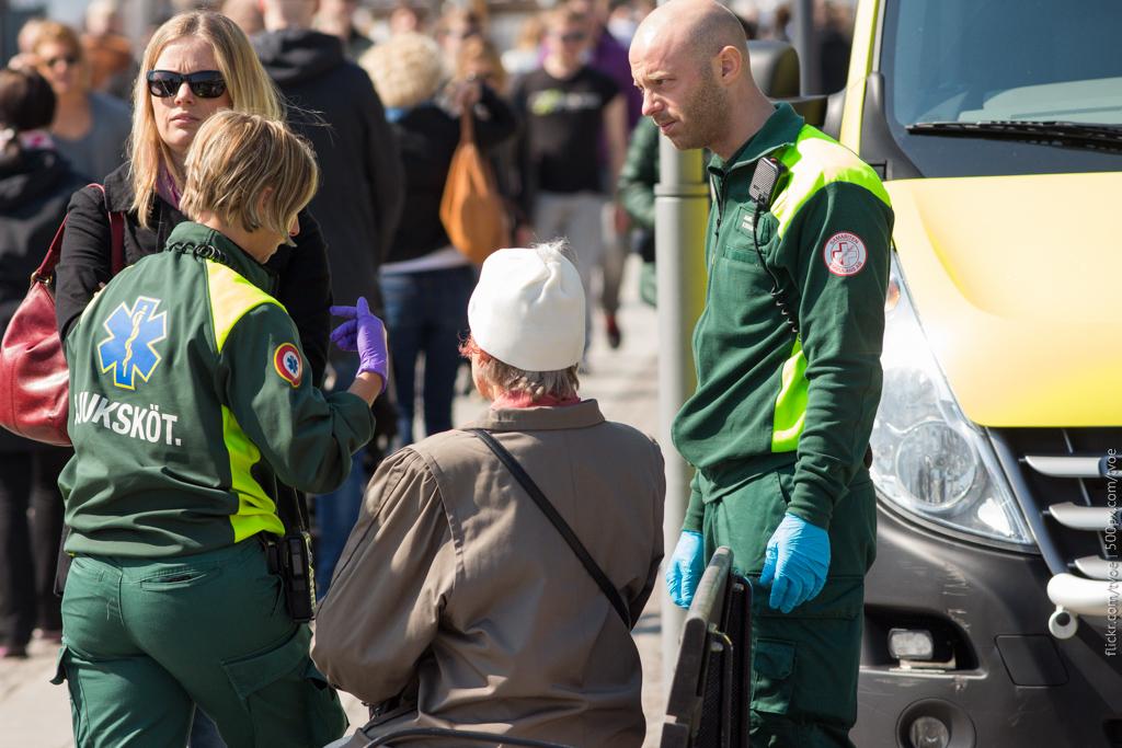 Скорая помощь в Стокгольме